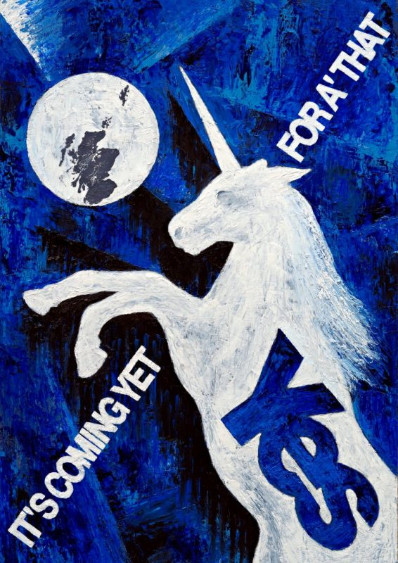 yes scotland unchained unicorn martin scott laird 2014