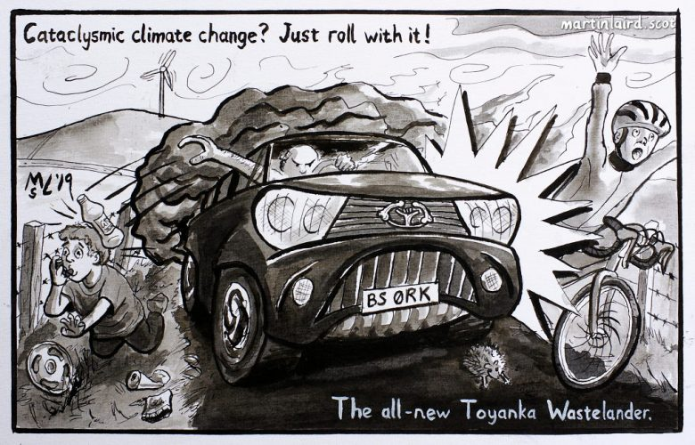 Cataclysmic climate change?