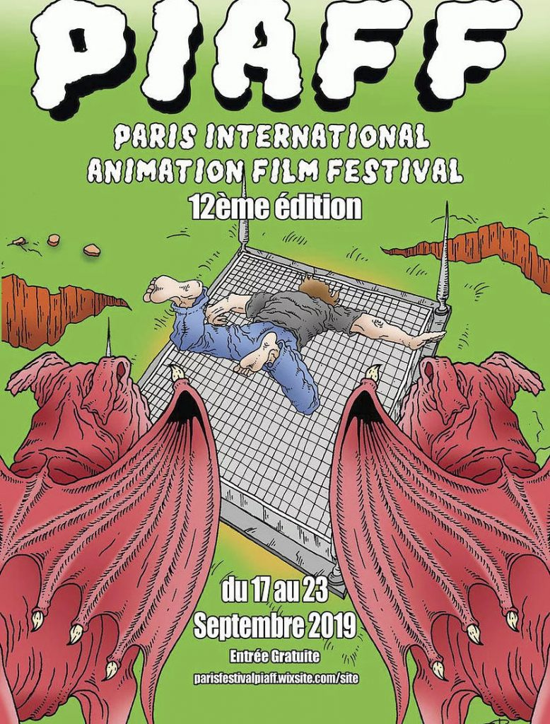 Paris International Animation Film Festival, 17th to 23rd September 2019
