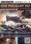 HMS Pheasant 1917 crowdfunder ad. Visit www.crowdfunder.co.uk/hms-pheasant-1917 for more information and to donate