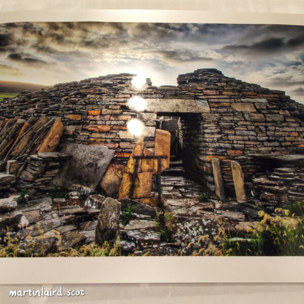 Midhowe Broch print sample 3